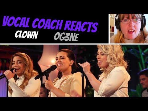 Vocal Coach Reacts to OG3NE Clown