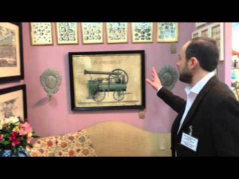 The Decorative Fair Battersea Park in London Spring 2014 - Timothy Langston Fine Art & Antiques