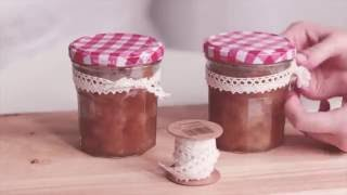 Gambar cover Make your own, quick & easy APPLE JAM! Homemade apple jam.