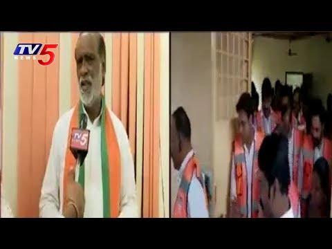బీజేపీ నేతలు కేటీర్ ట్రాప్ లో పడ్డారా? | K laxman Face To Face Over Nagam Comments | TV5 News
