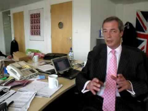 UK Independence Party Leader Nigel Farage response to expenses scandal