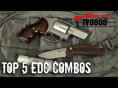 Top 5 EDC Combos