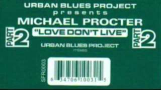 Urban Blues Project pres.  Michael Procter  - Love Don
