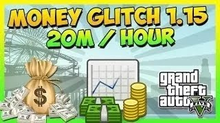 "GTA 5 Money Glitch - ""UNLIMITED MONEY GLITCH"" After Patch 1.15 (MAKE MILLIONS FAST) ""GTA 5 Glitches"""