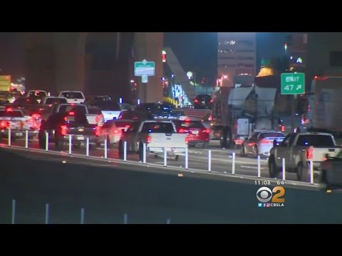 Newly Expanded 91 Freeway Opens In Corona
