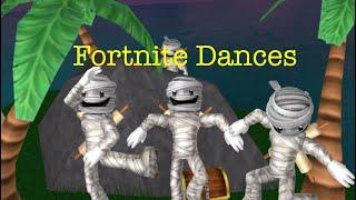 Fortnite Dances On Roblox (Part 1)