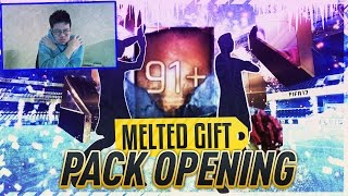 FIFA Mobile BIGGEST GIFT OPENING! 91+ OVR LGMS + ULTIMATE FREEZE PACK + MORE ELITE GIFTS OPENED