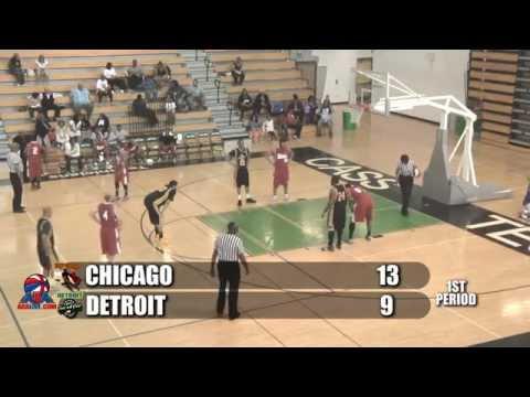 ABA - BASKETBALL - CHICAGO VS DETROIT