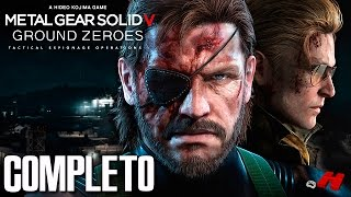 Metal Gear Solid V Ground Zeroes - Skull Face e a Destruição da Mother Base (Gameplay PT BR)