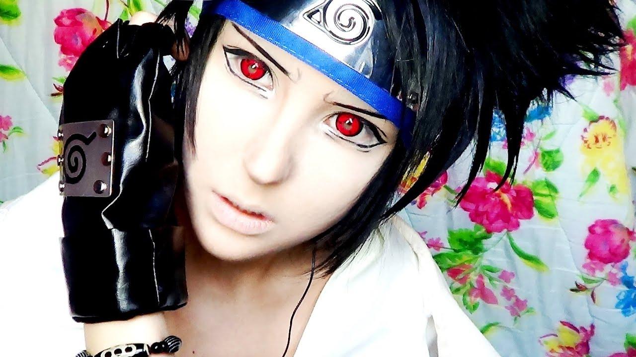 Anime Characters With 3 Eyes : Naruto sasuke make up transformation by anastasiya