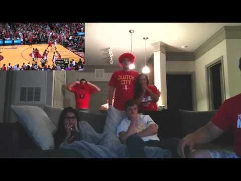 Damian Lillard's Dagger Buries Houston Rockets (Fan Reaction)