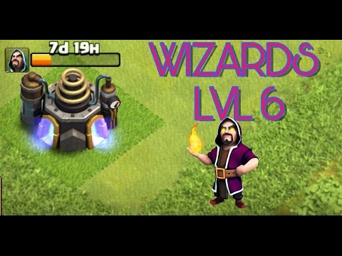 UPGRADING WIZARDS TO LVL 6 (TH9)