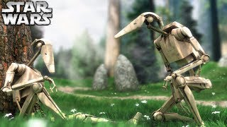 How 2 Battle Droids Inadvertently Deserted the Separatist Army - The Forgotten Stories #1