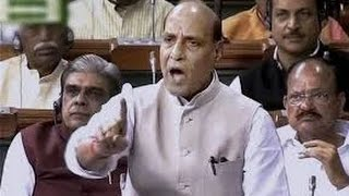 ANGRY Rajnath Singh slams CONG for coining