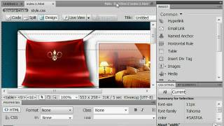 Настройка интерфейса Adobe Dreamweaver CS4 (5/51)