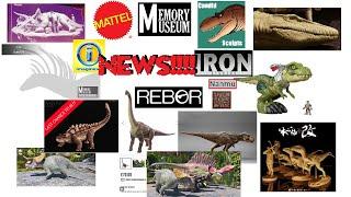News!!! Mattel Brachiosaurus showing up on certain sites! Candid Studios! Nanmu! Memory Museum!