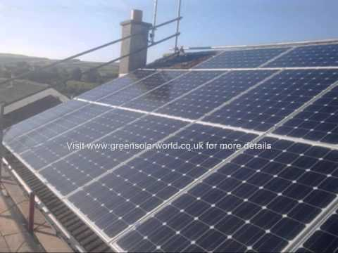 Green Solar World air to water heat pumps in Cambridge