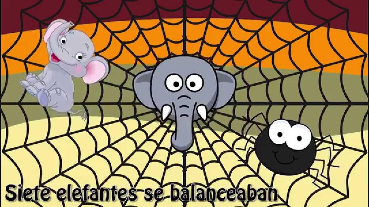 """""""Un elefante se balanceaba"""" - Canciones infantiles para ..."""