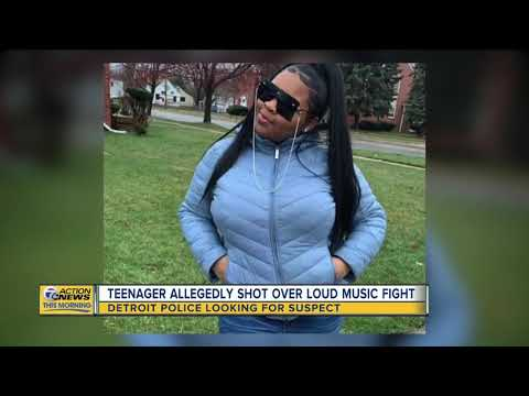Teen shot after asking neighbor to turn down music on Detroit's west side
