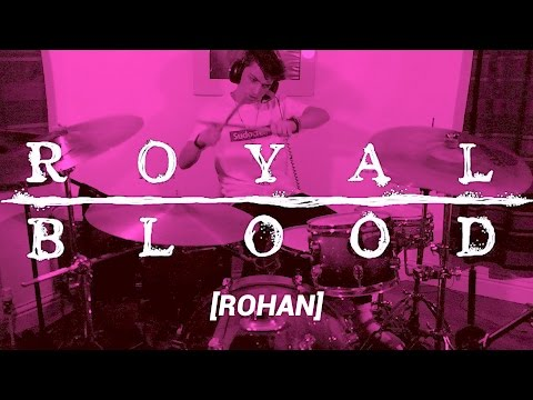 ROYAL BLOOD - LIGHTS OUT - (BUDGET) DRUM COVER
