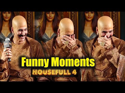 Akshay Kumar's BEST Funny Moments 😂😂😂 From Housefull 4 Trailer Review Launch