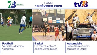 7/8 Sports. Emission du lundi 10 février 2020