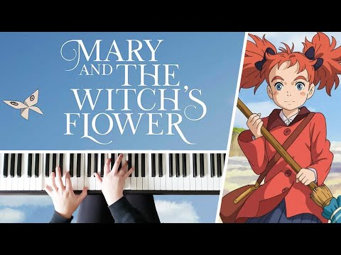 Mary's Theme - Mary and the Witch's Flower || PIANO COVER