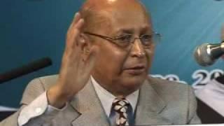 (1/2) Ahmadiyya: Prof Vijay Swami Rao at Inter-Religious Peace Conference 2008