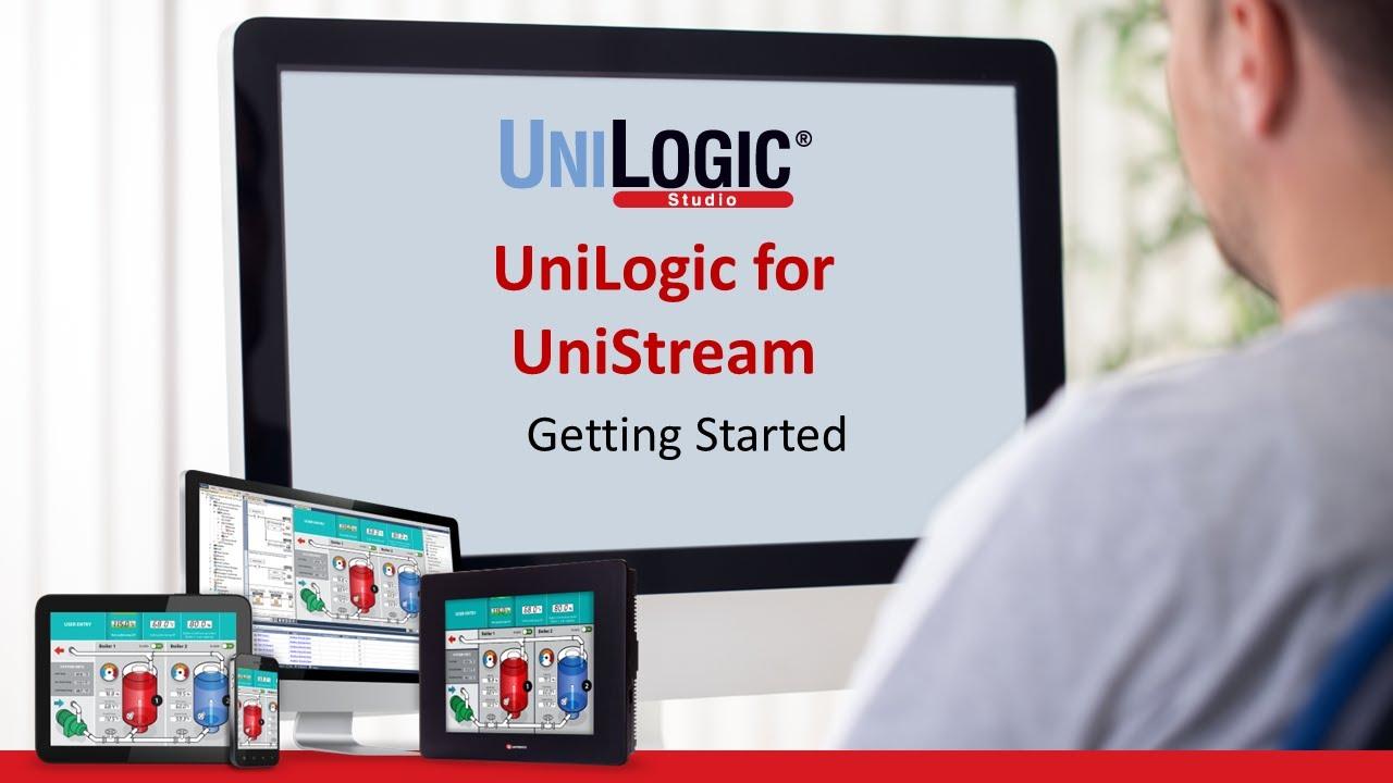 PLC Training: Getting Started   UniLogic for UniStream by Unitronics