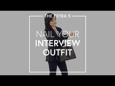 The Extra 5: Nail Your Interview Outfit | The Zoe Report by Rachel Zoe