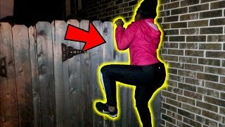 WE BROKE INTO SOMEONE'S HOUSE!!!