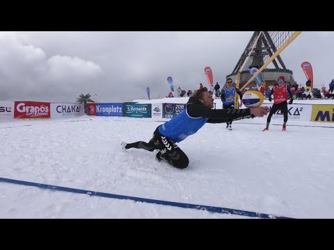 Plan de Corones/ Kronplatz Highlights 2018 CEV Snow Volleyball Tour