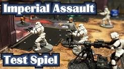 Wie spiele ich Star Wars Imperial Assault? Test Spiel Bericht 1 Deutsch für Anfänger Full HD