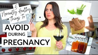 5 Healthy Things To Avoid During Pregnancy