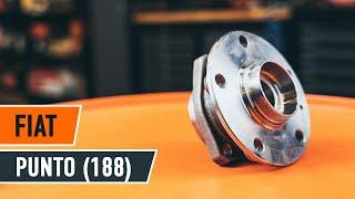 Come e quando cambiare Cuscinetto mozzo ruota posteriore e anteriore FIAT PUNTO (188): video tutorial