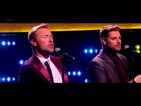 Boyzone - Tracks Of My Tears ITV HD [Live] The Jonathan Ross Show, 22Nov2014
