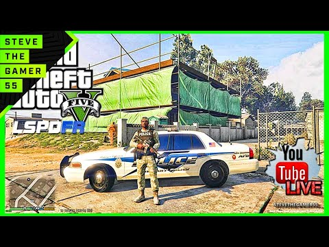 GTA 5 LSPDFR 0.3 LIVE STREAM - MILITARY