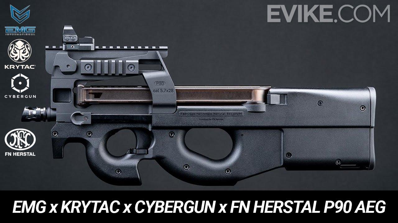 EMG x Krytac x Cybergun x FN Herstal P90 AEG - Teaser