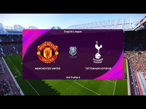 Manchester United vs Totenham | eFootball PES 2021 SEASON UPDATE Gameplay | Steam PC |