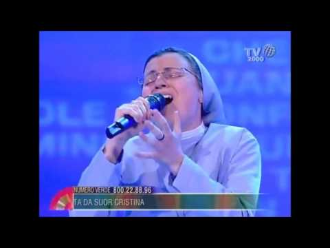 Sister Cristina Scuccia - Senza la tua voce (without interview just song)