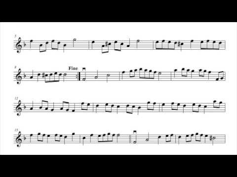 19Purcell Abdelazer Rondeau for violin