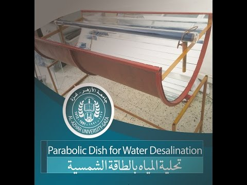 Parabolic Dish for Water Desalination