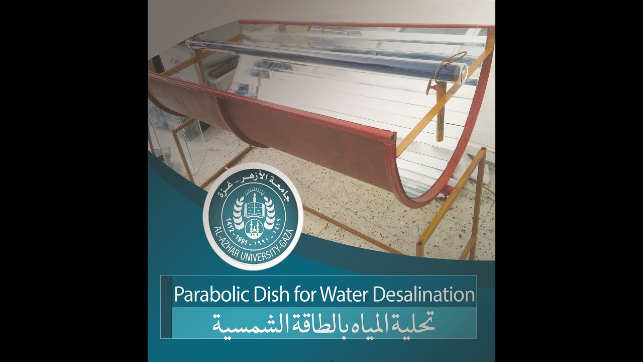 Parabolic Dish for Water Desalination