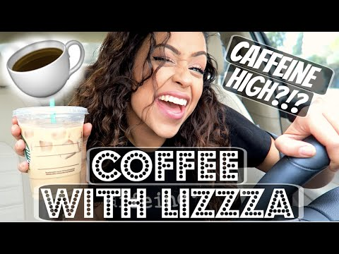 Thumbnail: CAFFEINE HIGH?!! COFFEE WITH LIZZZA | Lizzza