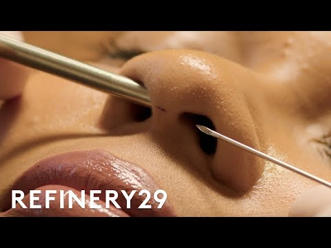 I Got A Septum Nose Piercing For The First Time | Macro Beauty | Refinery29