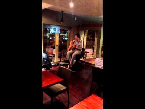 Hallelujah acoustic cover live - James Edgar
