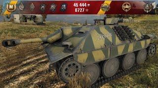 WoT Hetzer | 14 kills - Siegfried Line