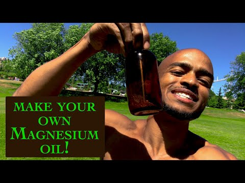 Best Magnesium Oil Recipe! L Benefits Of Magnesium & MSM L Vegan Skin Care