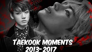 Taekook moments 2013-2017