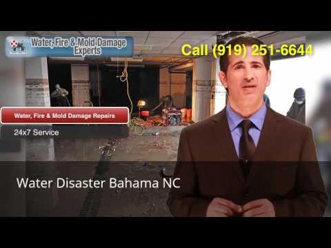 Water Disaster Bahama NC (919) 251-6644